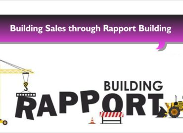 building sales through rapport building